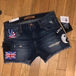 NWT Joes jean short pants bottoms